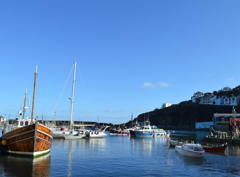 Waterside Cornwall Review | Self-Catering Lodges Near The Eden Project - mevagissey harbour