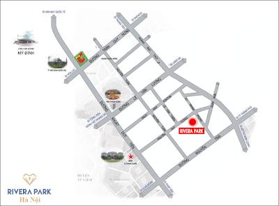 Vị trí dự án Rivera Park Hà Nội