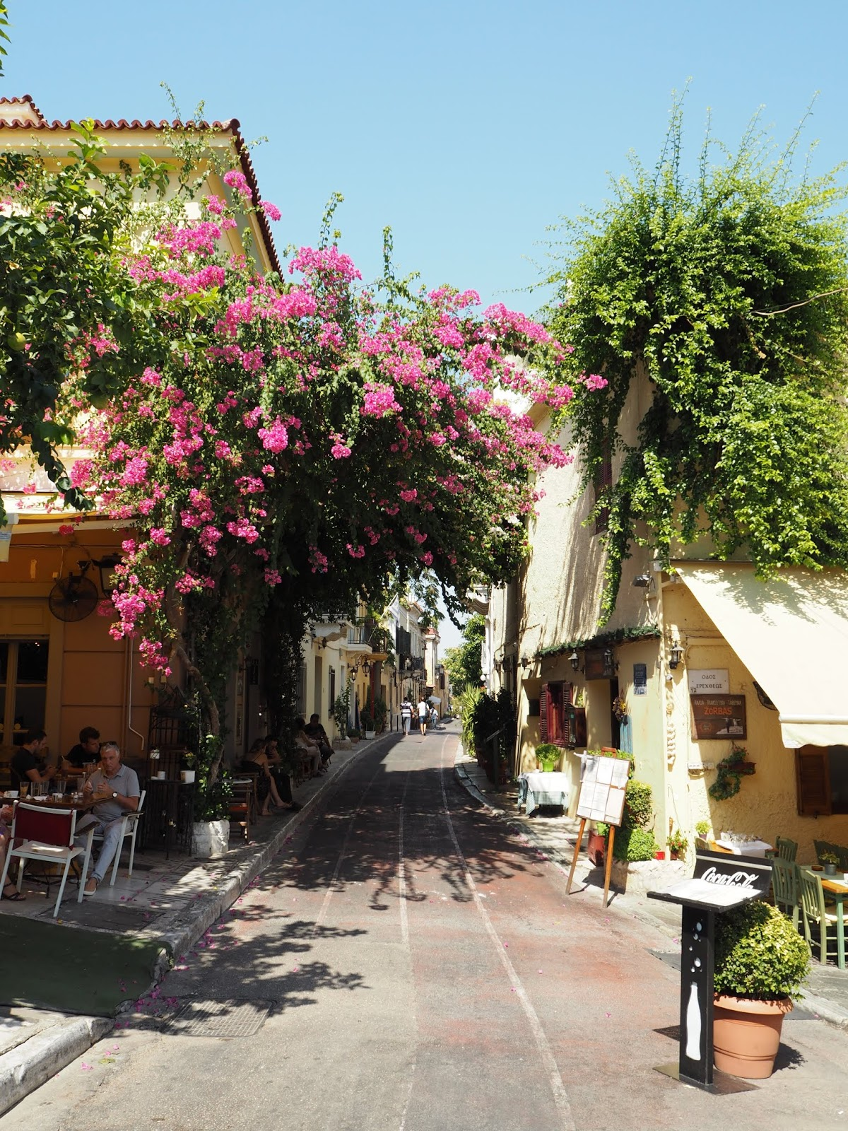 beautiful streets in athens