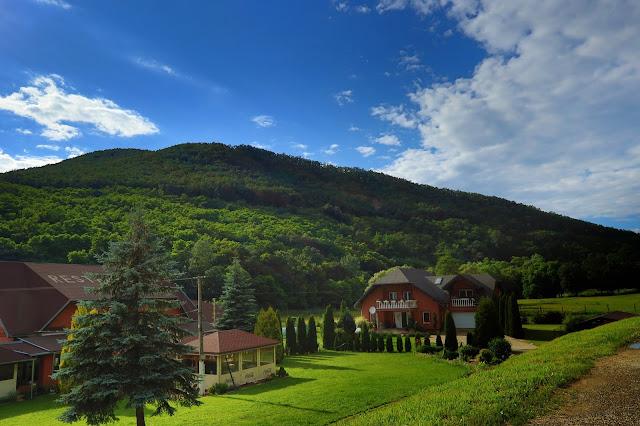 Pogranicze Słowacji i Węgier to niezbyt wysokie góry