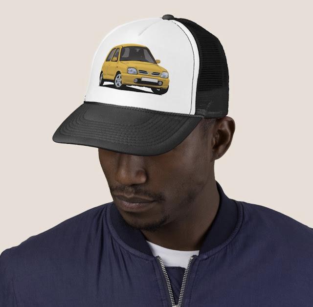 Nissan Micra / Nissan March - trucker hats
