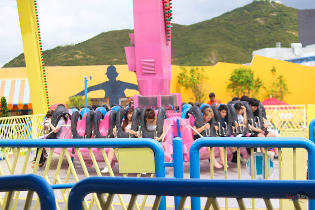 The Flash Ride in Ocean Park Hong Kong