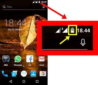 Cara Menampilkan Persentase Baterai Android One