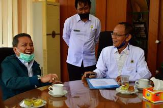Bupati Batanghari Sambut Kehadiran Ketua Pengurus Persatuan Wartawan Indonesia (PWI) Jambi