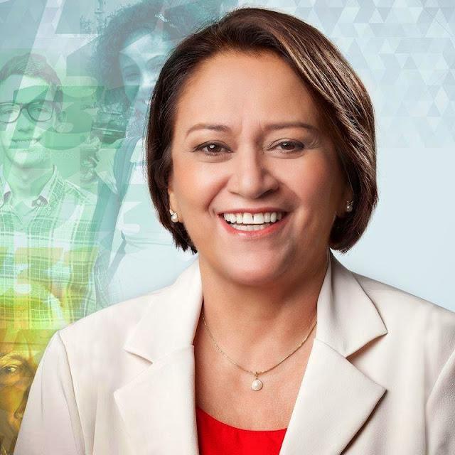 Resultado de imagem para Senadora Fátima Bezerra: