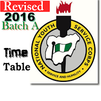NYSC Batch A Mobilization Time Table Revised; Check Now