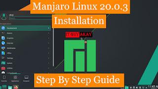 manjaro linux 20.0.3