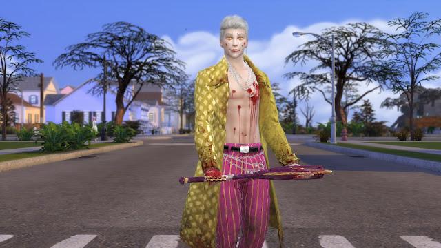 DBD Trickster Original Yellow Coat Sims 4 CC Download
