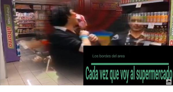 """🏪Pasodoble con LETRA """"Cada vez que voy al supermercado. Chirigota """"Los bordes del area"""" (1996)"""