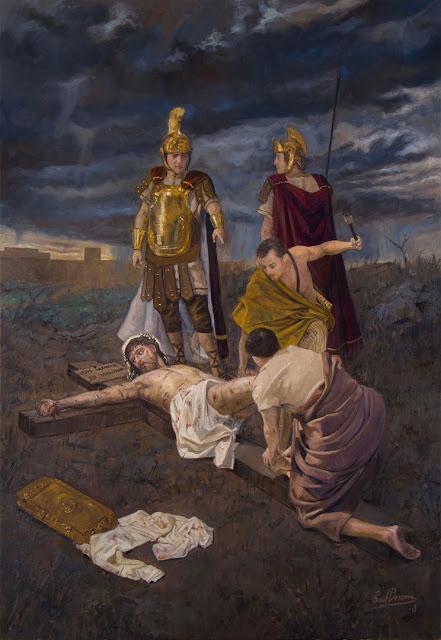 XI Estação da Via-Sacra - Jesus é crucificado