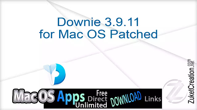 Downie 3.9.11 for Mac OS Patched