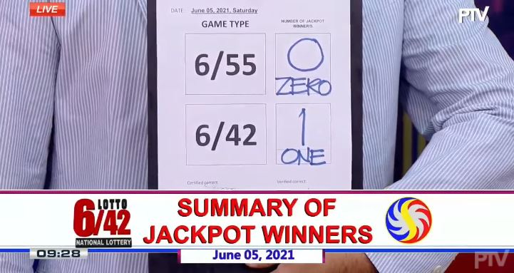 Lone bettor wins Php 10-M Lotto 6/42 jackpot