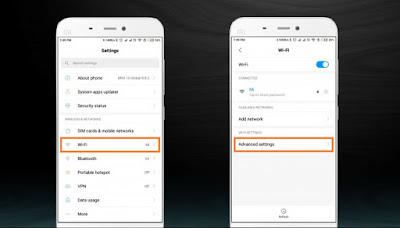 Xiaomi WiFi speed mode settings