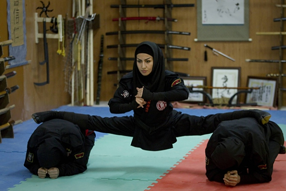 Sanskrit Of The Vedas Vs Modern Sanskrit: Iran Female Ninjas - Amazing