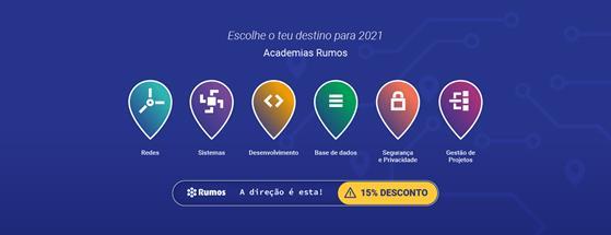 RUMOS PROMOVE CAMPANHA DE FINAL DE ANO COM 15% DE DESCONTO