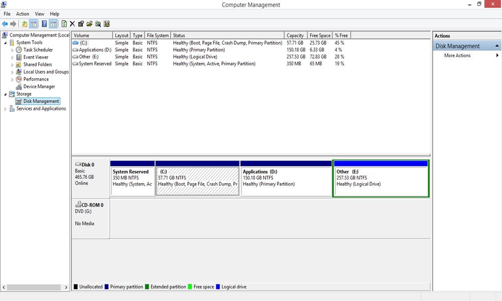 طريقة إظهار وإخفاء البارتيشن فى نسخة ويندوز 7,8,10 Windows بدون عمل فورمات او استخدام برامج