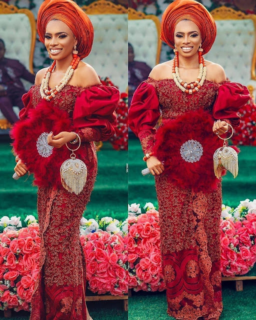 Checkout Latest Ankara and Aso Ebi Lace Styles