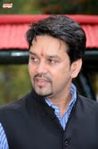 Anurag Thakur:  Elected as the new BCCI president