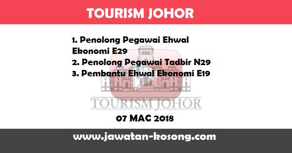Jawatan Kosong di Tourism Johor