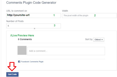 facebook comment wordpress site code