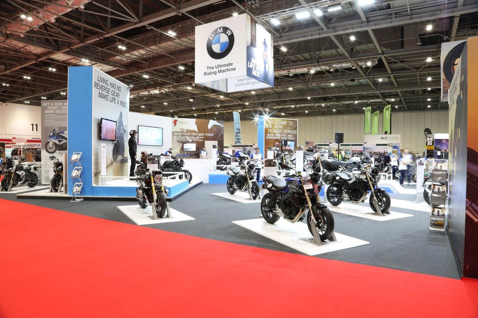 bmw motorrad uk.: the uk's biggest bike show