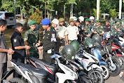 Denpom IV-5 Semarang Lakukan Ops Gaktib Pada Pendam IV/Diponegoro