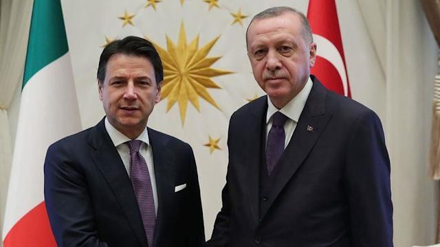 Επικοινωνία Ερντογάν – Κόντε για Ανατολική Μεσόγειο