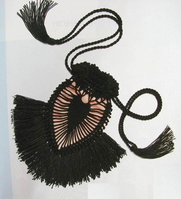 Patron Crochet Bolso Indio para Movil