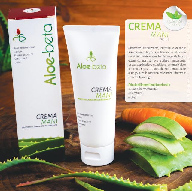 Crema Mani Aloe-Beta Aloe Arborescens