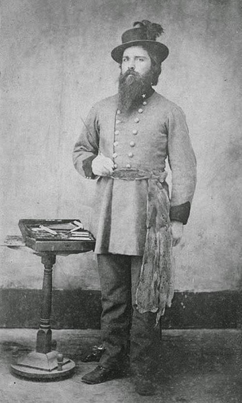 Confederate Surgeon Major Medical Department picture 2