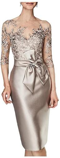 Best Knee Length Short Mother of The Bride Dresses