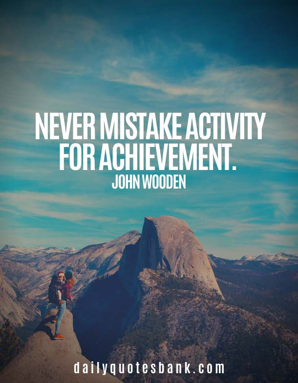 John Wooden Quotes On Mistakes