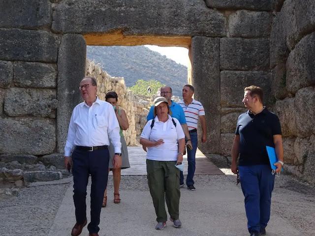 Πέφτουν υπογραφές για την αντιπυρική προστασία του αρχαιολογικού χώρου των Μυκηνών