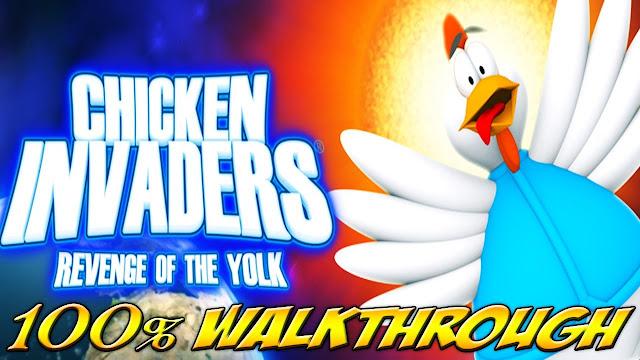 تحميل لعبة الفراخ Chicken Invaders Revenge of the Yolk