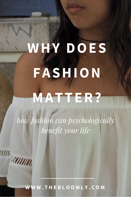 How fashion can psychologically benefit your life
