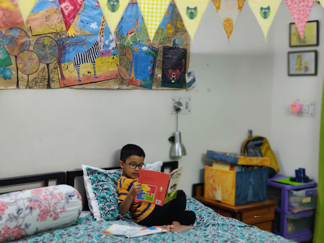 kids who love to read
