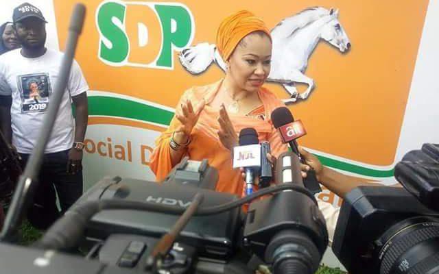 Kogi Central: SDP Aspirant, Natasha Akpoti Pledges To Work For The Revival Of Ajaokuta Steel Coy