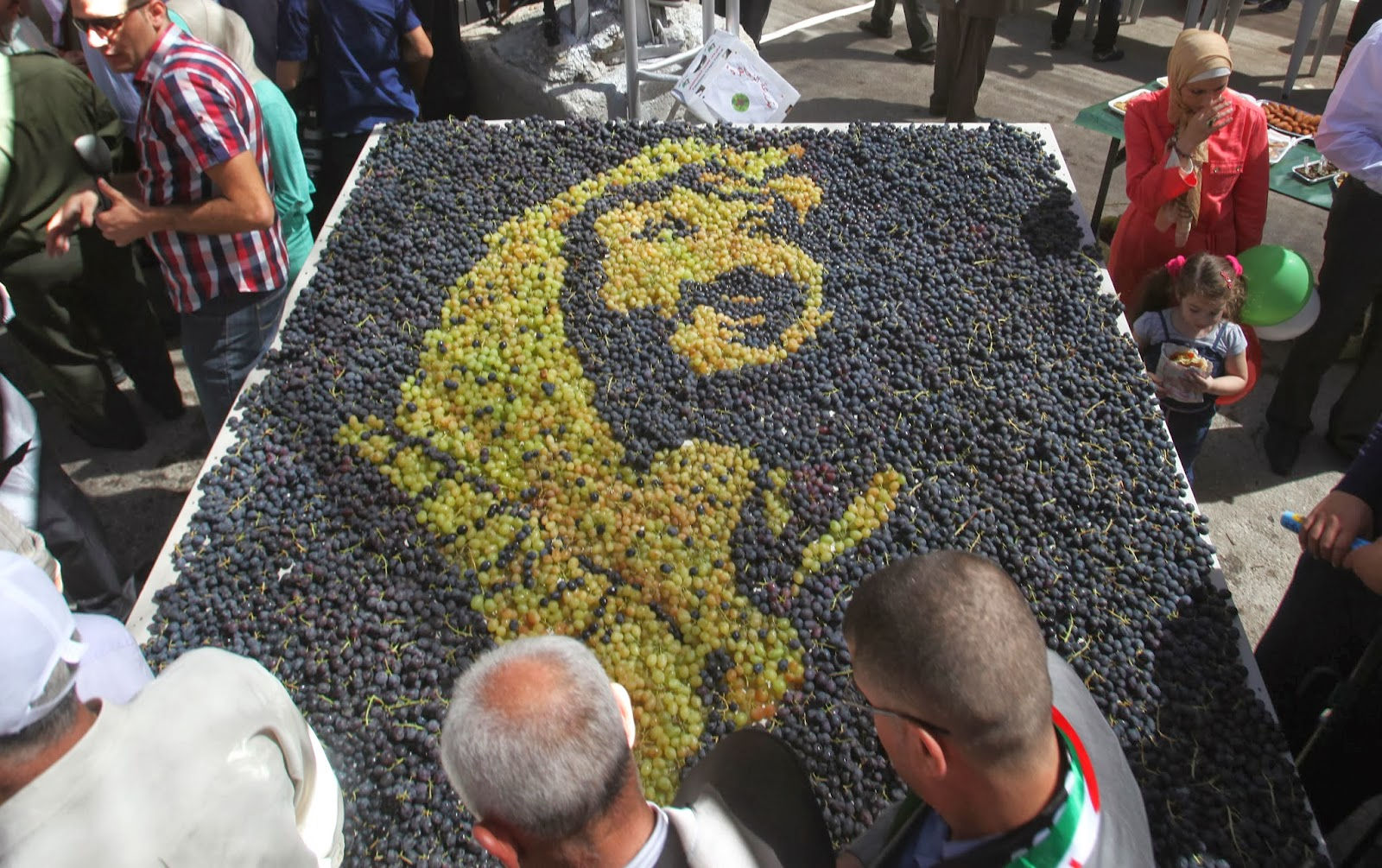 Agriculture, Business, Economy, Exhibition, Festival, Fruit, Grapes, Halhul, Hebron, News, Offbeat, Palestine, Trade Show,