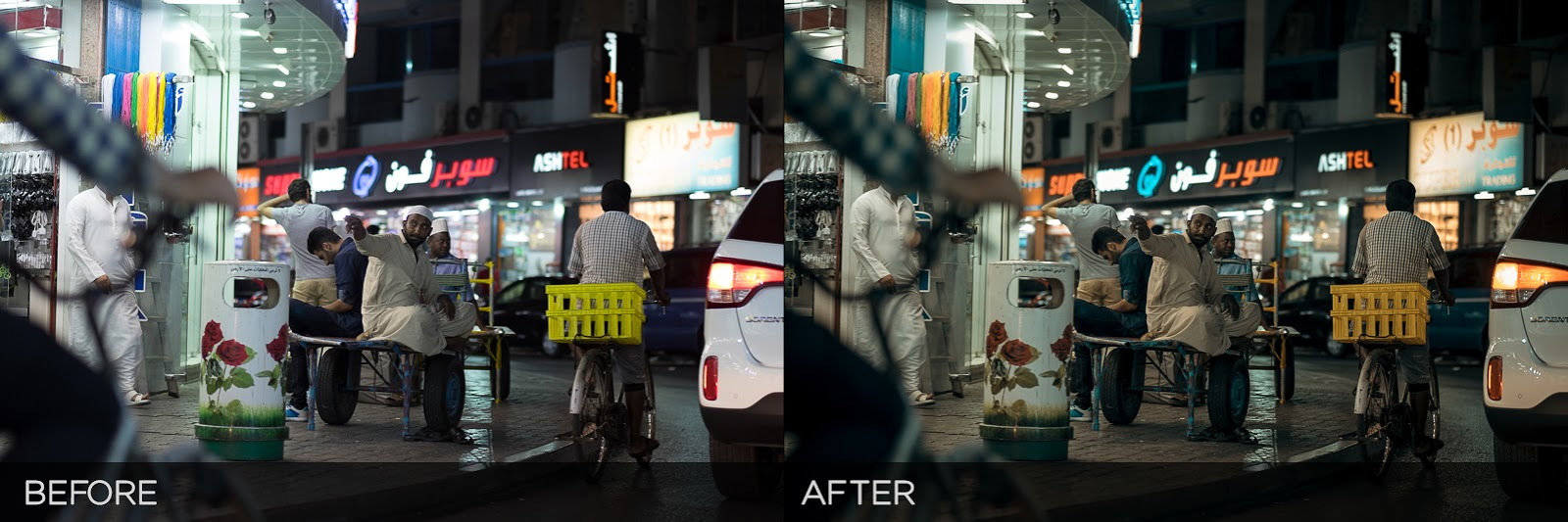Cinema Night - Free Lightroom Preset | Rufat Abas Photography