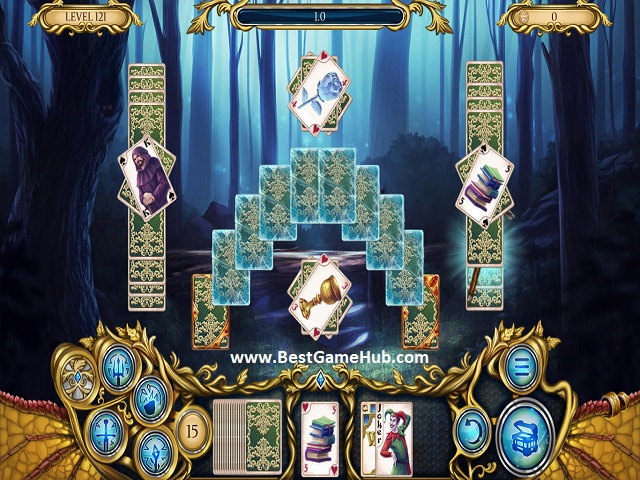 Solitaire Dragon Light full version free download - bestgamehub.com