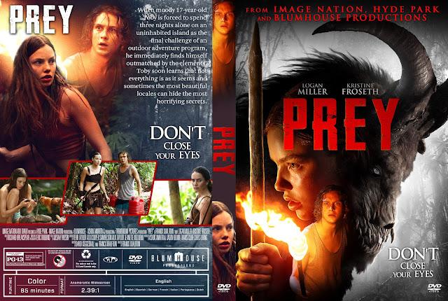 Prey (2019) DVD Cover