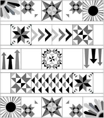 Sampler quilt layout | DevotedQuilter.com