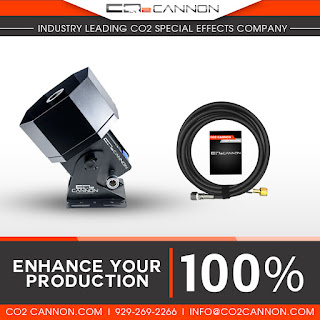 Enhance Your Production 100% and create your own Colorful Plumes of Smoke Special Effects with the CO2 Cannon LED MEGA Jet for sale at www.co2cannon.com