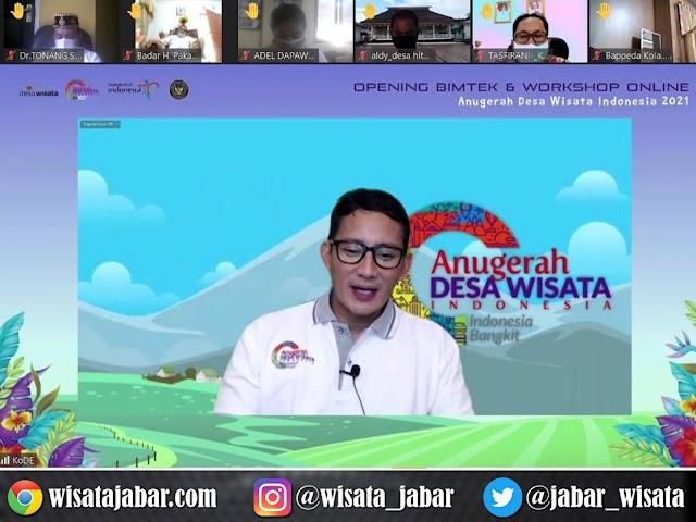 1.583 Peserta Ikuti Anugerah Desa Wisata Indonesia 2021