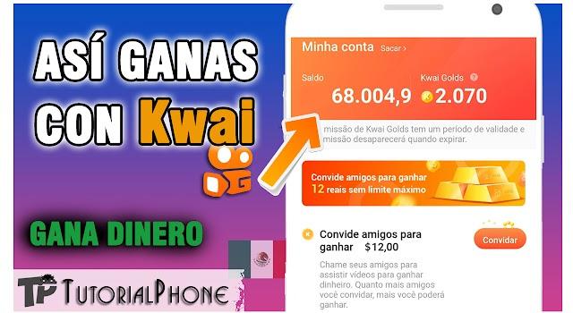 💸 Cómo ganar dinero con Kwai - viendo videos