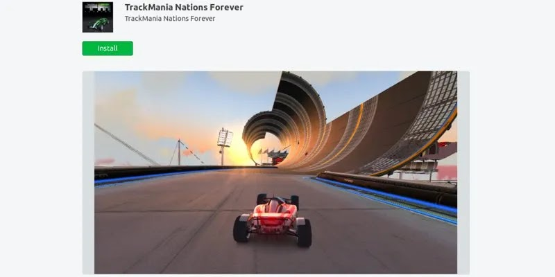 أفضل ألعاب ubuntu-snap-store-trackmania-Nations-forever
