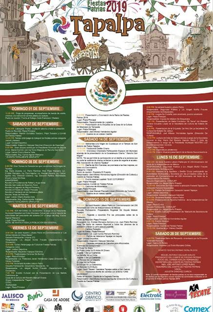 fiestas patrias tapalpa 2019