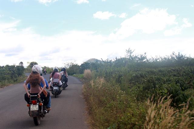 the easy rider tour starting to explore Da Lat in Vietnam