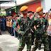 Danramil 0804/06 Maospati Dan Babinsa Menghadiri Pemakaman Purna TNI AU Di Desa Malang