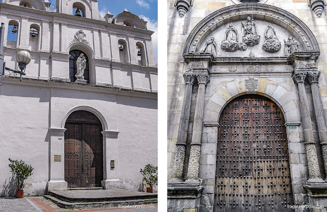 Igrejas de Bogotá: Igreja de Las Águas e Capela de La Bordadita